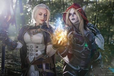 Jaina and Sylvanas - Azerite