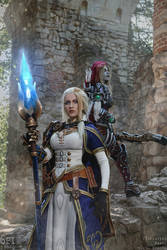 Jaina and Sylvanas by Narga-Lifestream