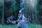Tyrande Whisperwind - Tribute to Teldrassil by Narga-Lifestream