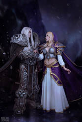 Arthas and Jaina - Warcraft