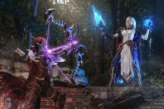 World of Warcraft - Warchief vs Admiral by Narga-Lifestream