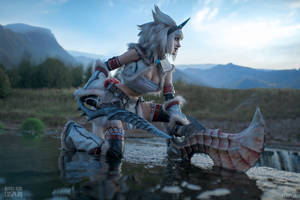 Kirin set - Monster Hunter