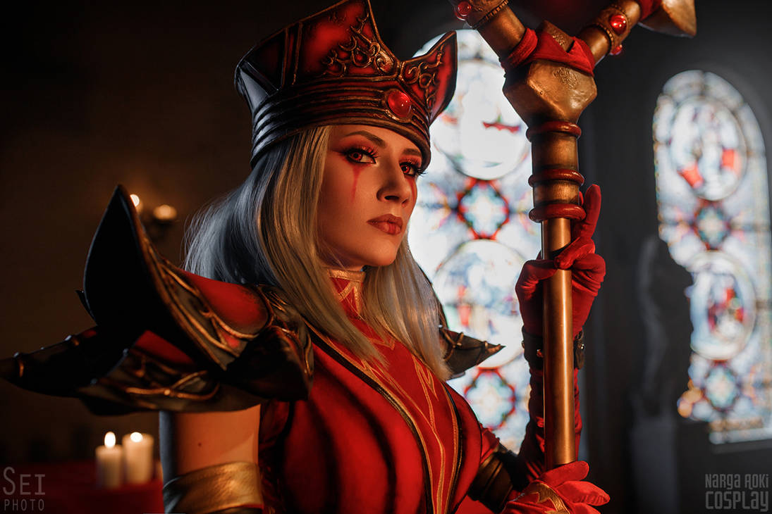 Flame of Salvation - Sally Whitemane cosplay by Narga-Lifestream