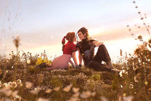 Zack and Aerith - Reunited in the afterlife 1