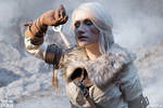 The White Frost - Ciri cosplay