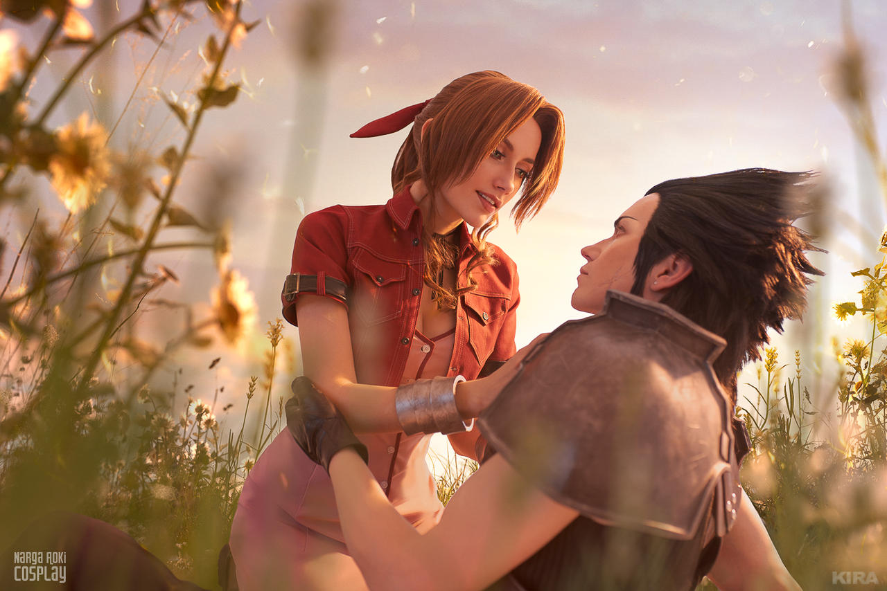 Zack and Aerith - Reunited in the afterlife 2