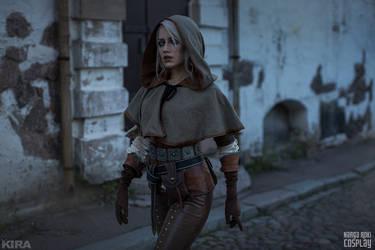 Ciri in Novigrad - The Witcher 3