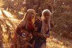Eversong Woods - Blood elves cosplay