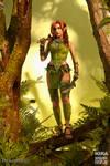 Redhead elf - Avadel from Dragonvault