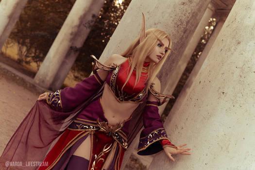 Blood elf cosplay - Original design