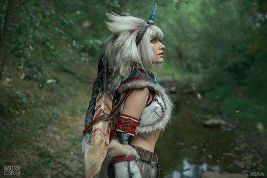 Monster Hunter Kirin armor - Gathering quest
