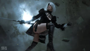 2B - NieR: Automata cosplay