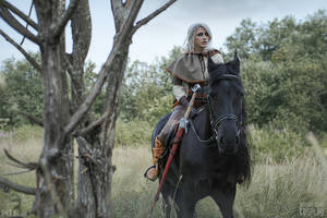 In Ciri's footsteps - The Witcher 3 cosplay