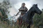 Velen - Ciri and Kelpie -The Witcher 3: Wild Hunt
