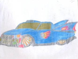 Blue Cadillac by thanatos883