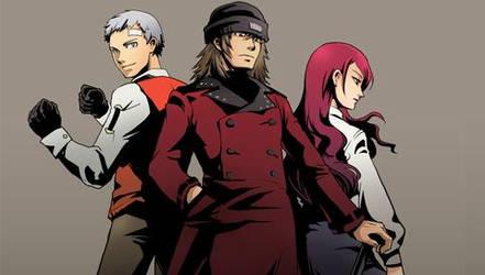 Akihiko,Shinjiro and Mitsuru by thanatos883