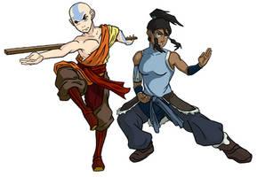 Two Avatars by EagleOfTheStar
