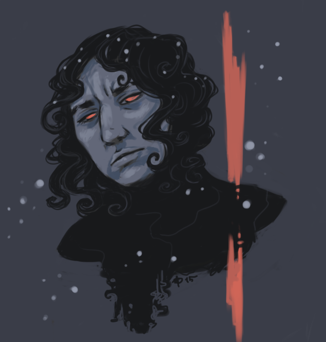kylo snow by silfverpaw