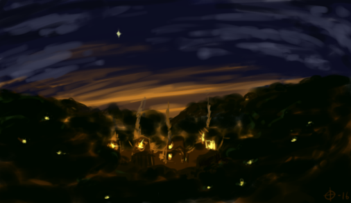 hidden village by silfverpaw