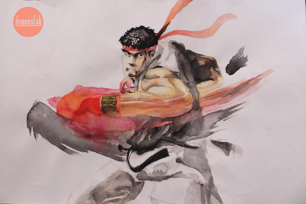 Ryu SF by DemensLab