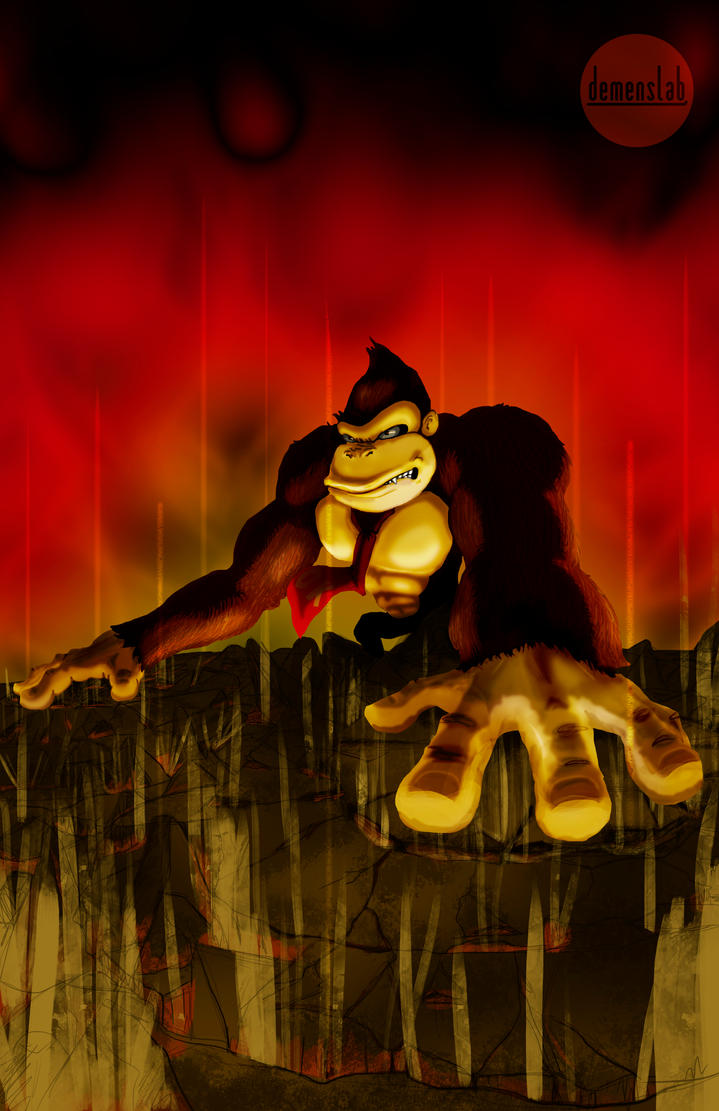 Donkey Kong SSB by DemensLab