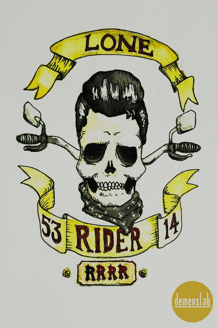 Ruben Rider Tattoo by DemensLab