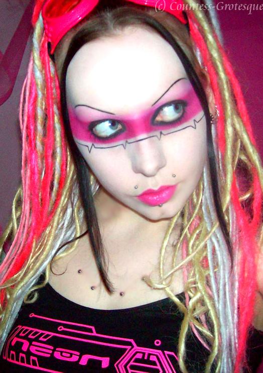 ECG Make-up by Countess-Grotesque