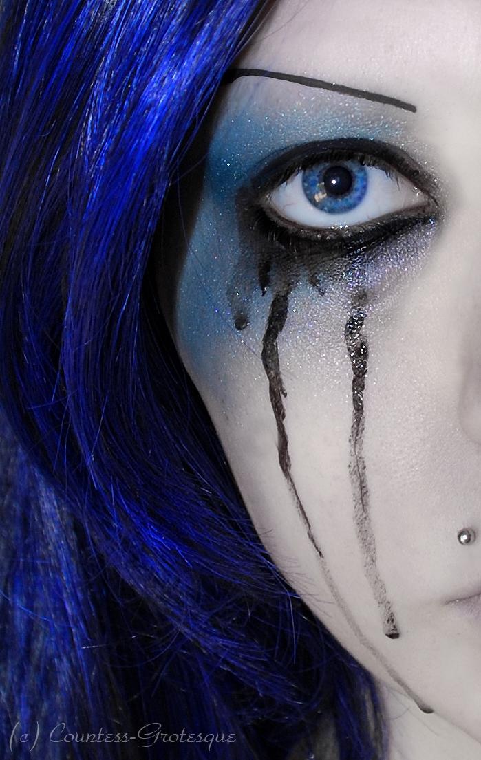 . feeling blue . by Countess-Grotesque