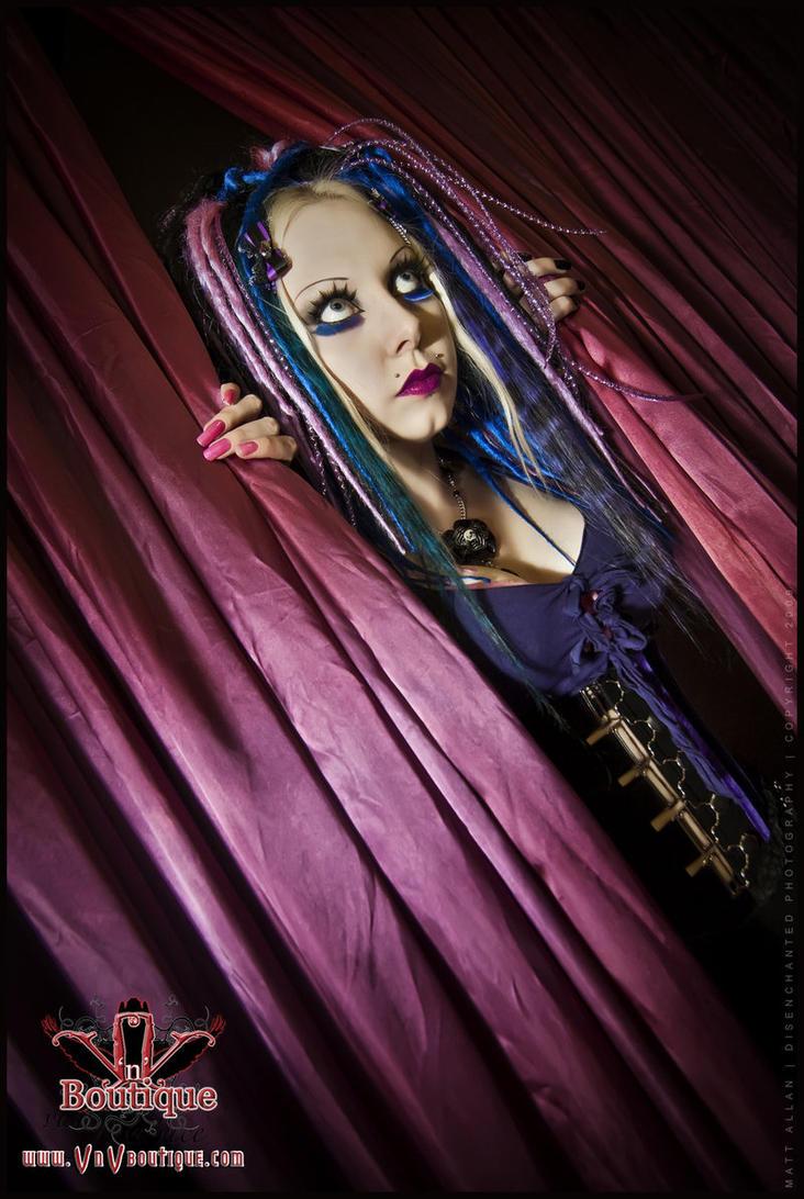 . peek . by Countess-Grotesque