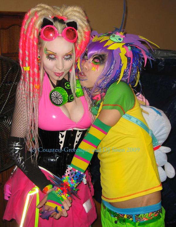 Countess and DJ Sisen by Countess-Grotesque