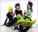 . cyber punk gender bender .