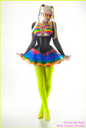. cyber punk rainbow . by Countess-Grotesque