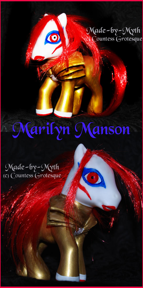 Marilyn Manson - pony by Countess-Grotesque