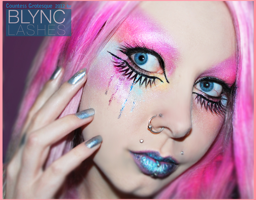 . blue eyes yet pink cries . by Countess-Grotesque