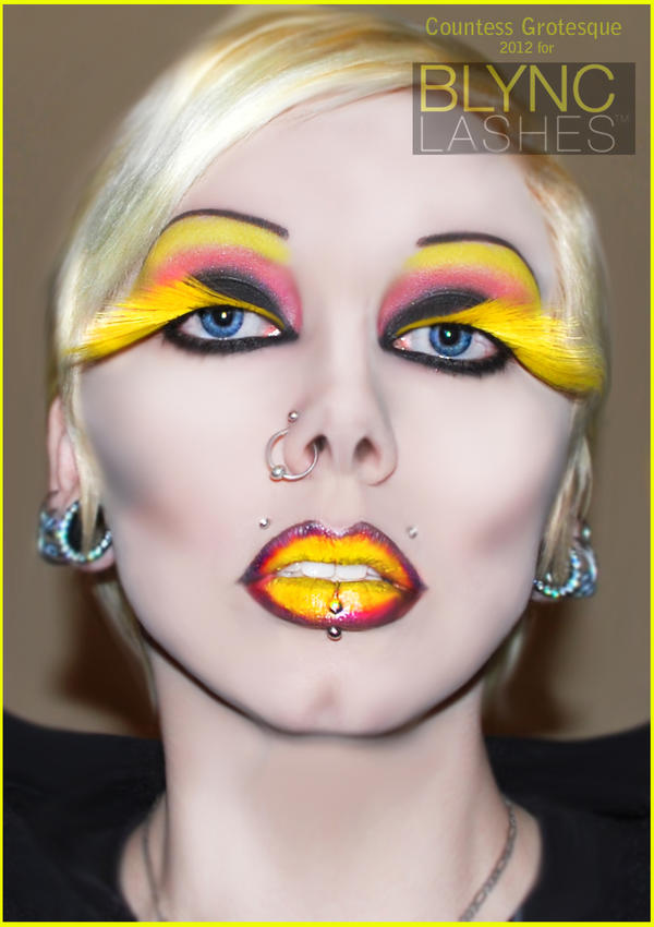 . androgyny in yellow . by Countess-Grotesque