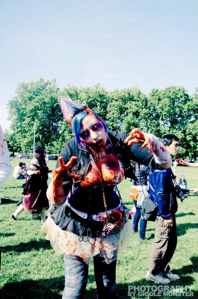 . melb zombie shuffle 2012 . by Countess-Grotesque