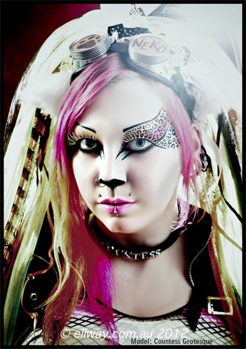 . neko domination . by Countess-Grotesque