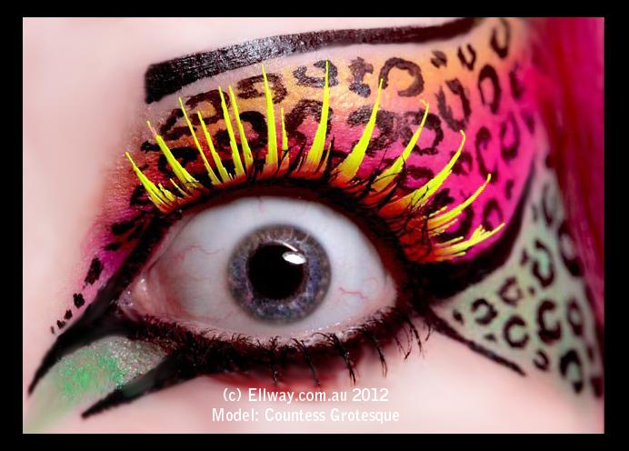 . kitty eye . by Countess-Grotesque