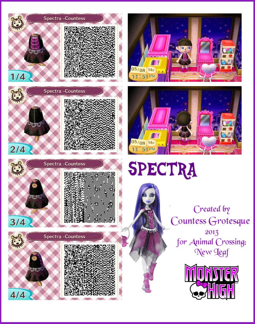 Spectra Outfit For Animal Crossing By Countess Grotesque On Deviantart