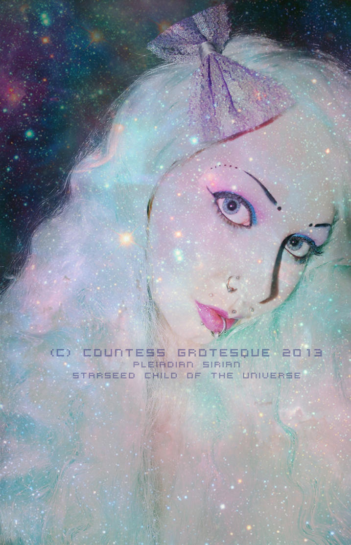Sirian Pleiadian starseed love and light by Countess-Grotesque