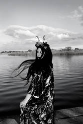 lake witch by Countess-Grotesque