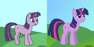 Twilight Sparkle Comparison