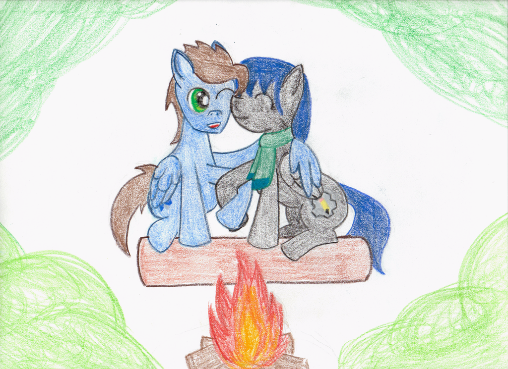 Flusky Camping by Invidlord
