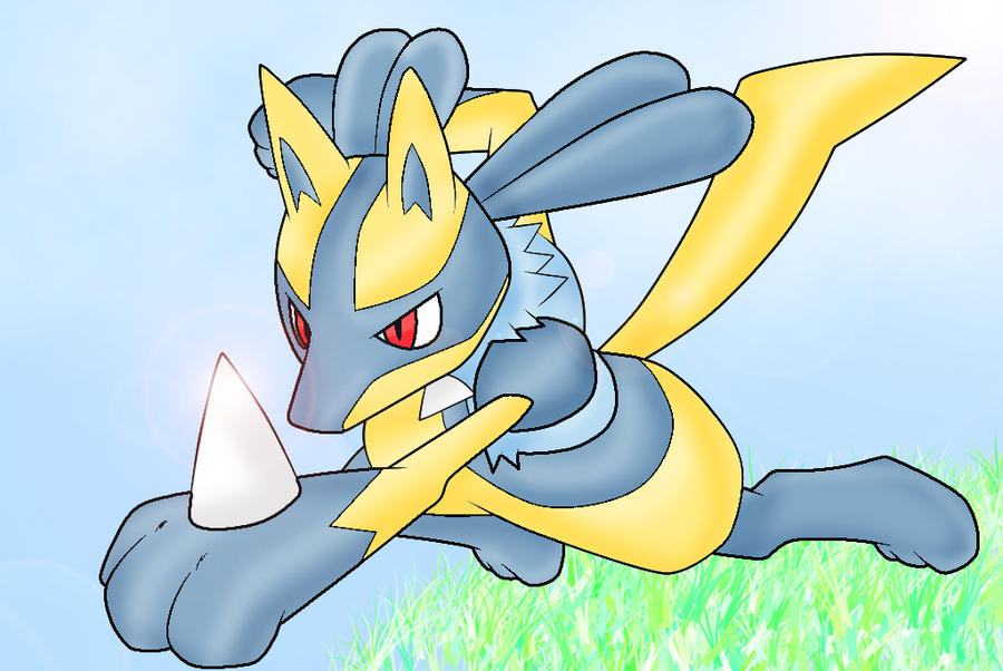 Shiny Lucario by Conection-14 on - 122.5KB