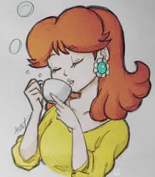 Calming Drink by OrihimeTenjho