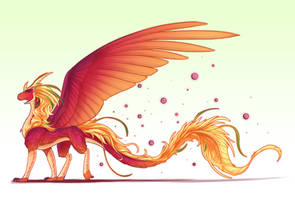 Amazon dragon by MissMagnificent