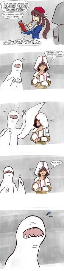 Legendary white dragon