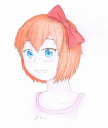 Sayori Smiling