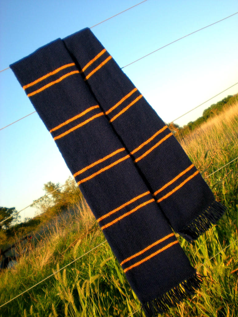 Yet Another Ravenclaw Scarf by TheSuzieBlue on DeviantArt