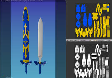 Master Sword WIP by amorph2012